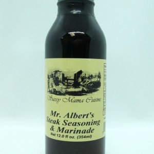 Mr. Albert's Steak Seasoning & Marinade