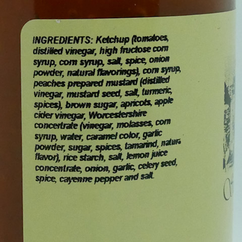Southern Peach Barbecue Sauce